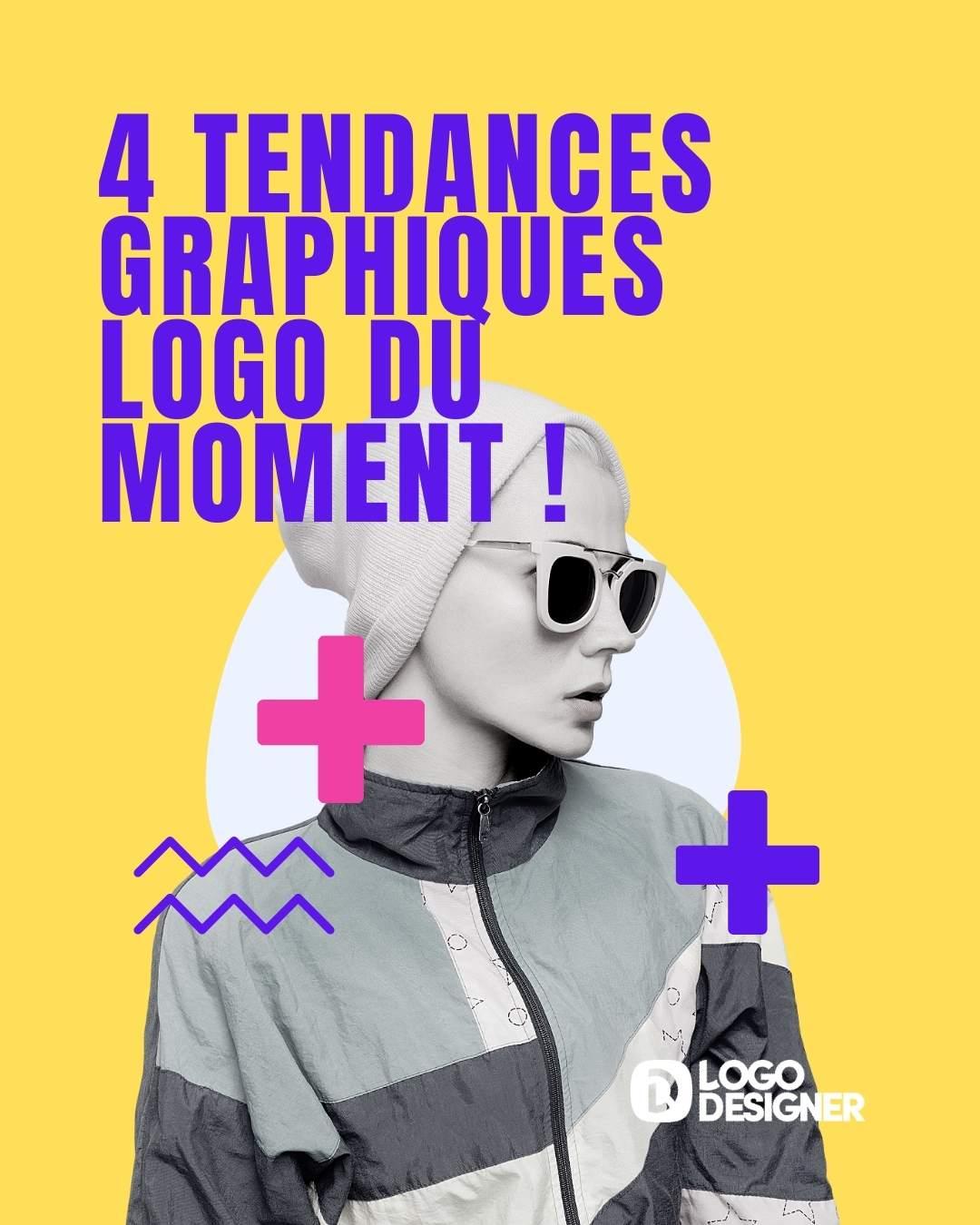 4 tendances graphiques logo du moment !